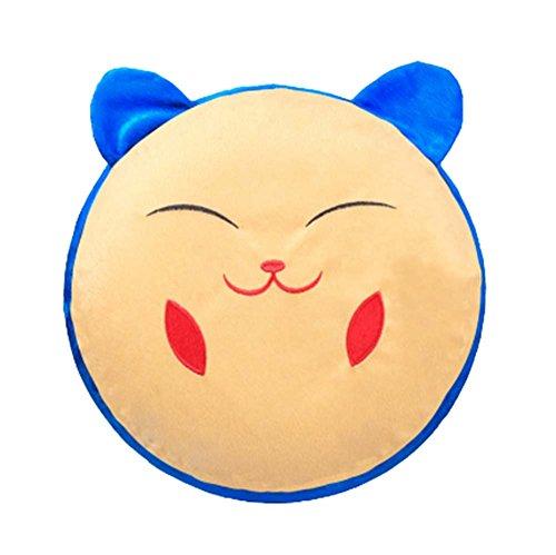 Karikatur-Plüsch-aufblasbares Hocker Tragbare Falten, Katze