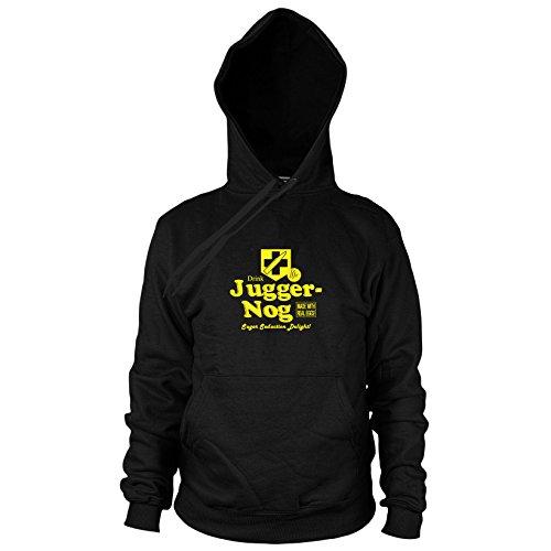 Preisvergleich Produktbild Juggernog - Herren Hooded Sweater, Größe: S, Farbe: schwarz