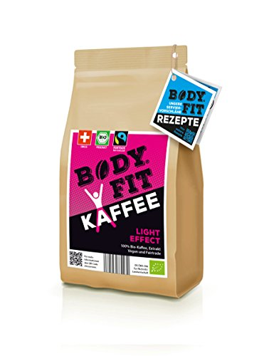 Bodyfit Light grüner Kaffee Extrakt: Aus 100% BIO, Vegan & Fairtrade Kaffeebohnen