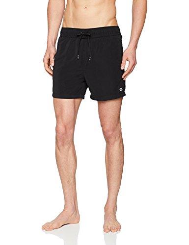 Billabong Surf Shorts (G.S.M. Europe - Billabong Herren All Day LB 16 Badeshorts, Black, XL)