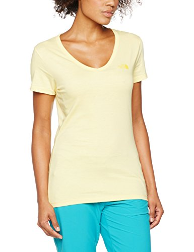 The North Face Simple Dome T-Shirt Femme jaune soleil