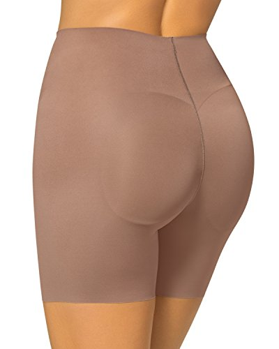 Leonisa Women's Invisible Padded Booty Lifter Enhancer Shaper Short