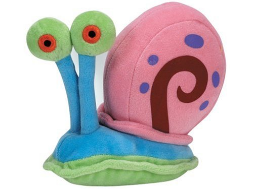 Image of Ty UK Beanie Baby - Spongebob Squarepants Gary the Snail Soft Toy
