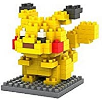Dhnewsun Diamond Blocks Nanoblock Pokemon Pikachu Educational Toy 120pcs
