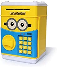 Money Piggy Bank ATM Automatic Volume Coin Money Box for Kids