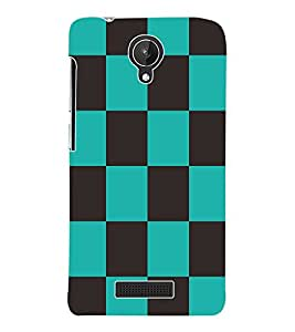 Fuson 3D Printed Pattern Design Designer Back Case Cover for Micromax Canvas Spark Q380 - D906
