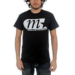 Millencolin - Camiseta - Unisex de color Negro de talla Medium - Millencolin - Uomo M Star Classic Logo (Camiseta), Nero