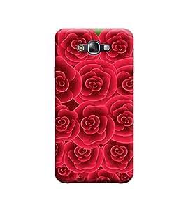 Ebby Premium Designer Back Cover for Samsung E5 (Designer Case)