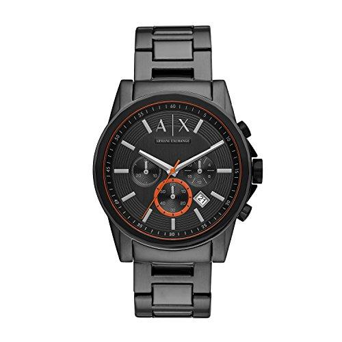Armani Exchange Reloj Analogico para Hombre de Cuarzo con Correa en Acero Inoxidable AX2514
