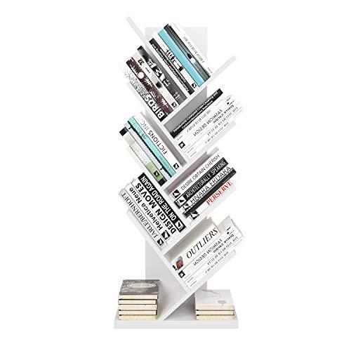 Homfa Estantería Libros Librería Árbol Estantería