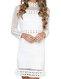 9d88f35159d2 Suchergebnis auf Amazon.de für: weißes kleid - LOBTY / Kleider ...