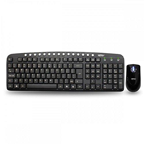 Zebronics Judwaa-540 Multimedia USB Keyboard & USB Mouse Combo (Black)  available at amazon for Rs.400