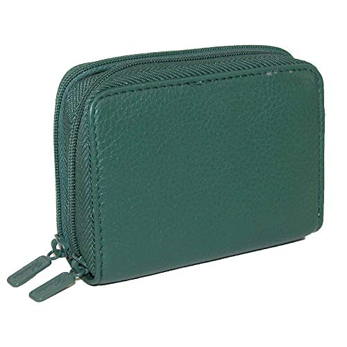 Buxton Leder Mini Akkordeon Assistenz Brieftasche für