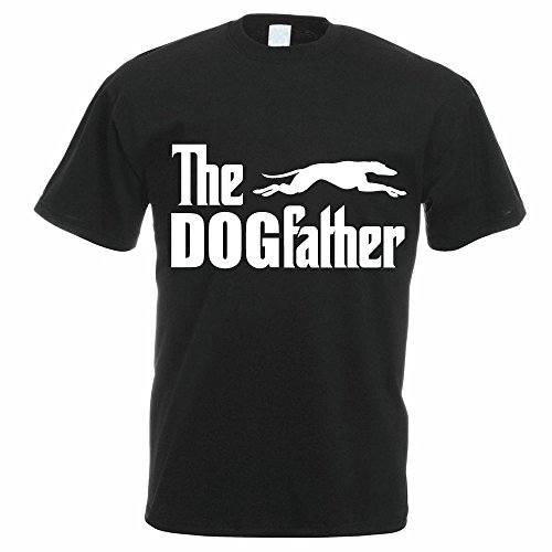 the-dogfather-greyhound-lurcher-funny-gift-idea-novelty-themed-mens-t-shirt-x-large-black
