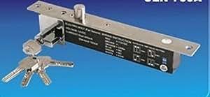 Serrure électrique à pêne dormant électrique et clé mécanique sbt600 (no)