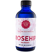 Woolzies 100% pure natural Rosehip oil 4oz, moisturizer for skin & hair by Woolzies preisvergleich bei billige-tabletten.eu