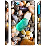 Casotec Sea Stones Designer 3D Printed Hard Back Case Cover for Apple iPod Touch 5th Generation