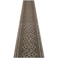 47 Sizes Available - Cork Grey - Sisal Style Carpet Runner Rug Door Mat - (Laminato Ceramic Tiles)