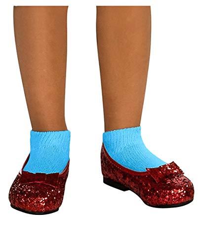 Horror-Shop Rote Dorothy Kinderschuhe für Fasching & Halloween ()