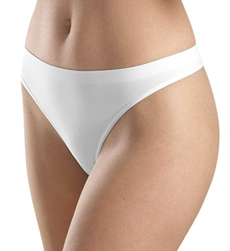 Hanro Damen String Touch Feeling Weiß (White )