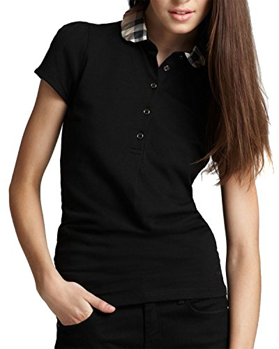 burberry-brit-womens-polo-yng81270-black-s