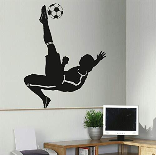 wandaufkleber baum kinderzimmer Fußball Fußballer Wandaufkleber Schablone Poster Aufkleber