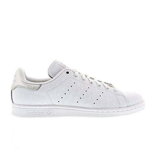 Adidas Stan Smith - Zapatillas para Hombre, Blanco (Blanco/Plateado metálico), 13 D(M) US