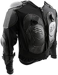 Moto Cuerpo Completo Chaqueta De Protección Armadura Columna Vertebral Hombro Pecho