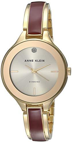 Anne Klein Classic Reloj de Mujer Cuarzo 32mm Caja de Acero AK/2702BYGB