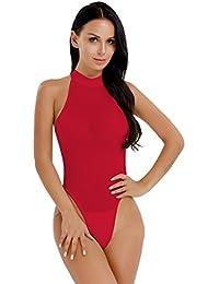 00ef11072b25 Amazon.es: mono negro mujer - Rojo / Lencería y ropa interior ...