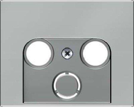Hager 12017014 interruptor de luz Acero inoxidable - Interruptores de luz (Acero...