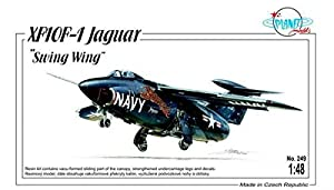 Planet Models plt249 - Maqueta de xf10 F de 1 Jaguar Swing Wing