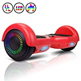 "Huanhui Hoverboard 6.5"" Smart Two Wheel Self Balancing Electric Scooter with Carry Bag"