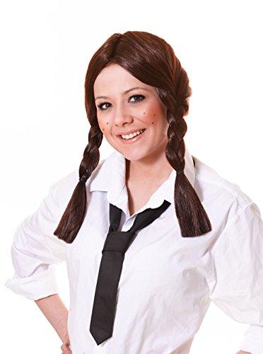 Imagen 2 de Brown Plaited Wig (peluca)