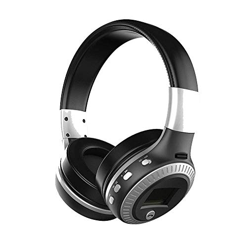 Kopfhörer Surround Stereo Bluetooth Gaming Kopfhörer 3,5 mm mit Micro-SD Radio FM PS4/XBOX/ONE Laptop Laptop Kopfhörer 25 * 25 * 6cm silber