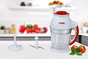 Hilton Stainless Steel 200W Jumbo Chopper (White)