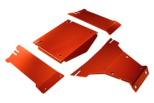 Integy RC Model Hop-ups C27662RED Aluminum Alloy Body Panel Kit for Axial 1/10 Yeti Rock Racer - Rc-kit Yeti