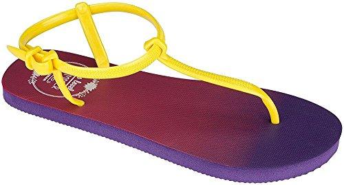 Waimea, Infradito donna viola/giallo