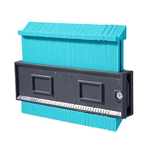 Kunststoff-kontur Blatt (Prettyui Multifunktionales Kunststoff Profil Kopie Gauge Kontur Gauge Duplizierer Standard 5