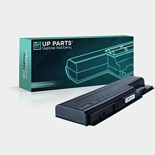 UP PARTS Marchio e Azienda Italiana UP-C-R5520 Batteria - 14,8V, 4400mAh, 65,1Wh per ACER Extensa 5210, Extensa 5210, 5230, 5235, 5420, 5610, 5620, 5630, 5635, 5720, 7620, 7520, 7720 TravelMate 5520,5530,5710,5730 GRAPE32, GRAPE34
