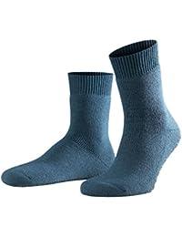 FALKE Herren Socken Homepads - Wolle-/Baumwollmischung, 1 Paar, versch. Farben, Größe 35-50 - Wärmender Stopppersocken mit Silikondruck und innenliegendem Plüsch