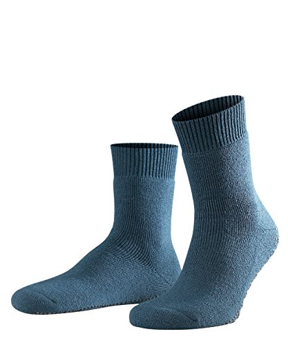 FALKE Herren Socken Homepads, Baumwollmischung, 1 Paar, Blau (Dark Blue 6690), Größe: 43-46