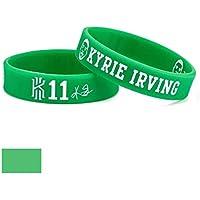 Lorh's store NBA Basketball Kyrie Irving Porträt Armband Nummer 11 Silikon Inspirierende Wort Sport Armband