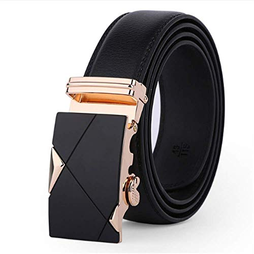 2019 New Fashion Men's Strap Male Belt Automatic Buckle Belts Genuine Leather -