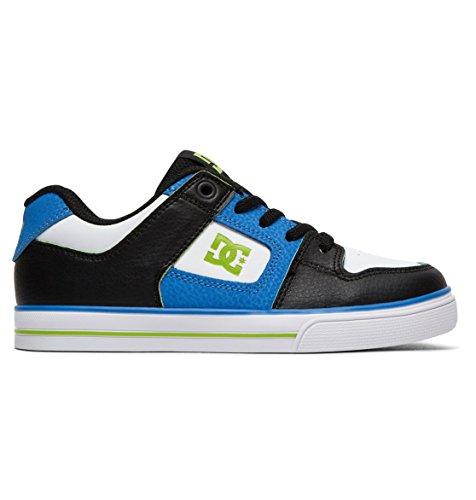 DC Shoes Pure Elastic SE - Shoes - Schuhe - Jungen - EU 30 - Blau (Pure Schuhe Dc Jungen)