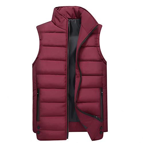 (Zegeey Männer Weihnachten Herbst Winter Casual Hoodie Print Weihnachten Reißverschluss Print Overall Mantel Jacke)