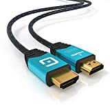 GUARDIEN HDMI-Kabel 1M 4K - kompatibel mit HDMI 2.0a, 2.0b, 2.0, 1.4a - Ultra HD bei vollen 60Hz, Dolby Vision, 3D, Full HD, 1080p, HDR, ARC, HDCP 2.2, Highspeed mit Ethernet