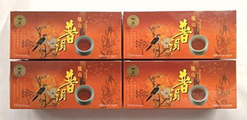 4 Packs Pu Erh Pu Er Puer Pu'er Tea Slimming Weight Loss Diet -- 100 Teabags 2 months supply