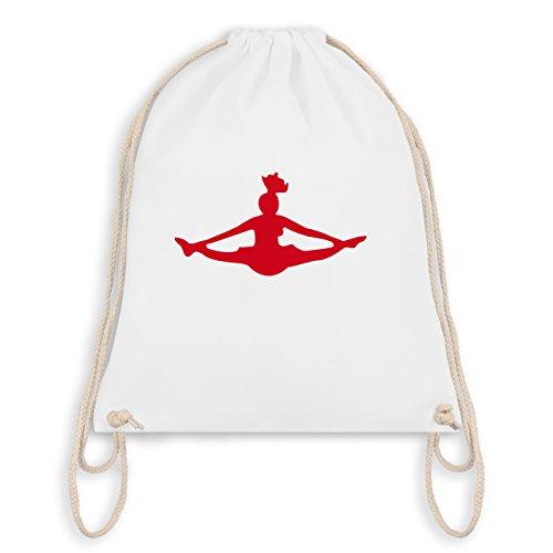 Tanzsport - Cheerleading - Unisize - Weiß - WM110 - Turnbeutel & Gym Bag