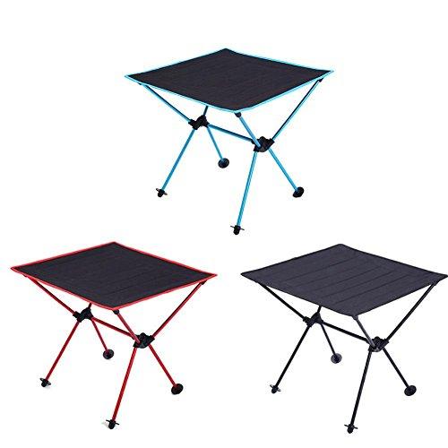 Mesa auxiliar mesa de jardín plegable y Ultra compacta barbacoa